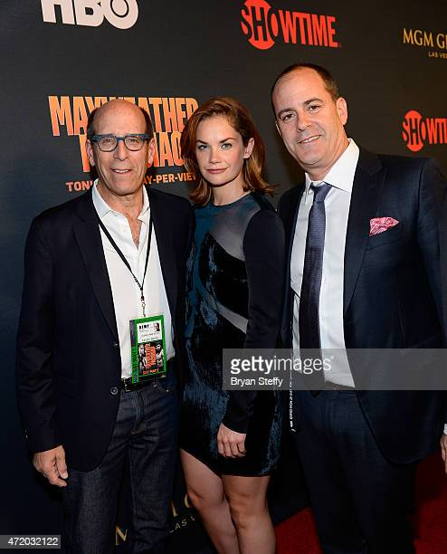 Matthew C. Blank Chairman and Chief Executive Officer Showtime Networks Inc., actress Ruth Wilson, and TV producer David Nevins attend the SHOWTIME...