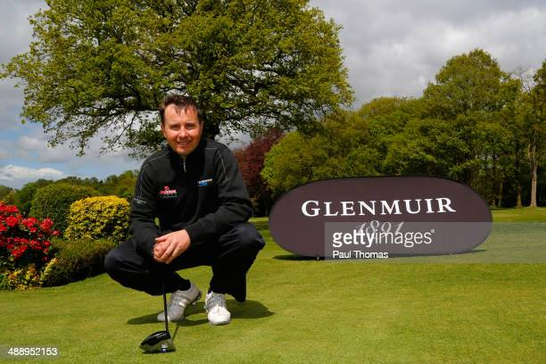 Matthew Cort of Rothley Park Golf Club poses for a photograph during the Glenmuir PGA Professional Championship Midlands Regional Qualifier at Little...