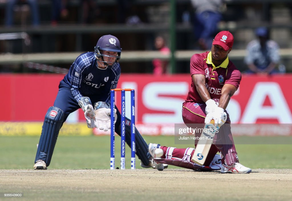 West Indies v Scotland - ICC Cricket World Cup Qualifier