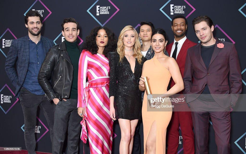 People's Choice Awards 2018 - Press Room : News Photo