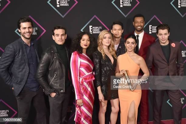 Matthew Daddario Alberto Rosende Alisha Wainwright Katherine McNamara Harry Shum Jr Emeraude Toubia Isaiah Mustafa and Dominic Sherwood attend the E...