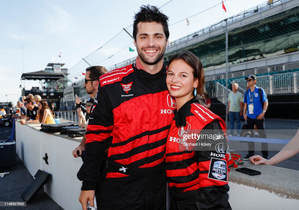 IN: Celebrities Attend Indy 500 Weekend