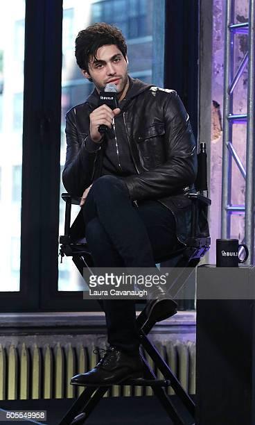 Matthew Daddario attends AOL Build Speaker Series Matthew Daddario 'Shadowhunters' at AOL Studios In New York on January 18 2016 in New York City