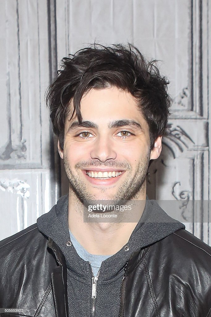 Matthew Daddario attends 'Shadowhunters' at AOL Studios In New York on January 18, 2016 in New York City.