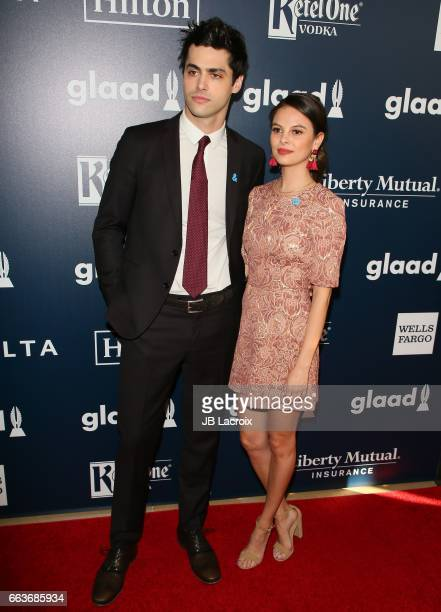 Matthew Daddario attends the 28th Annual GLAAD Media Awards on April 01 2017 in Beverly Hills California