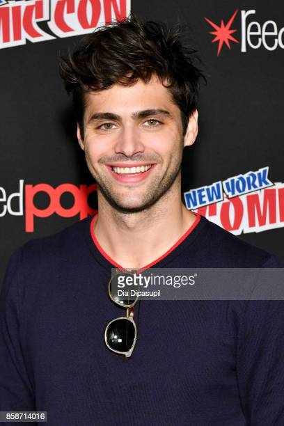 Matthew Daddario attends the Shadowhunter panel during 2017 New York Comic Con Day 3 on October 7 2017 in New York City