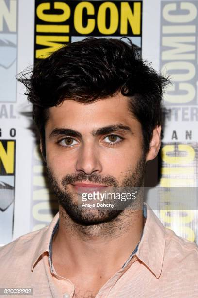 Matthew Daddario attends the Shadowhunters press conference at ComicCon International 2017 on July 20 2017 in San Diego California