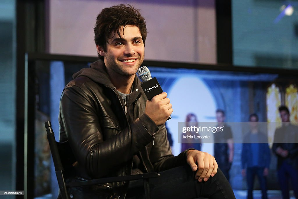 "AOL Build Speaker Series - Matthew Daddario ""Shadowhunters"""