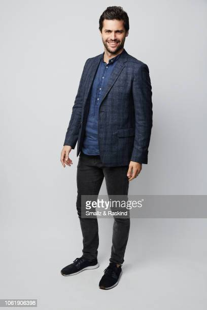 Matthew Daddario poses for a portrait during the 2018 People's Choice Awards at The Barker Hanger on November 11 2018 in Santa Monica California