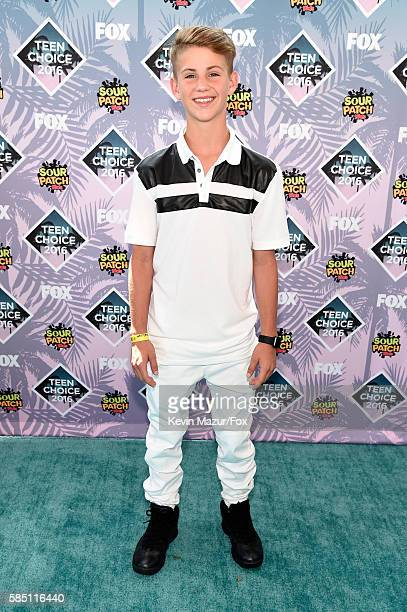 Matthew David Morris Better Known As MattyB Or MattyBRaps Attends Teen Choice Awards 2016 At The