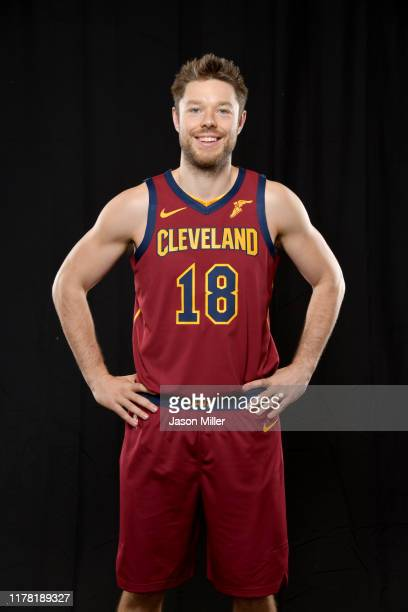 Matthew Dellavedova of the Cleveland Cavaliers during Cleveland Cavaliers Media Day at Cleveland Clinic Courts on September 30, 2019 in Independence,...