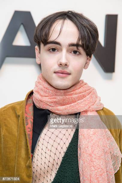 Matthew Domescek attends the CHANEL celebration of the launch of The Coco Club at The Wing Soho on November 10 2017 in New York City