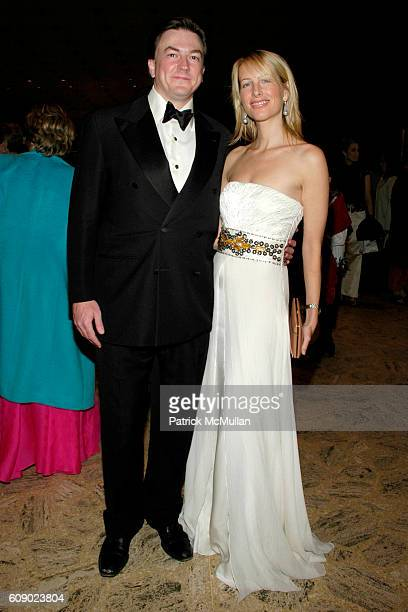 Matthew Doull and Vicky Ward attend NEW YORK CITY BALLET Spring Gala Featuring the World Premiere of Peter Martins' ROMEO JULIET at New York City...