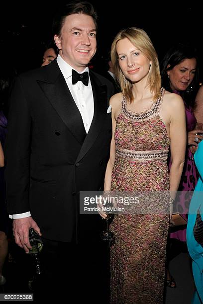Matthew Doull and Vicky Ward attend NEW YORKERS FOR CHILDREN Spring Gala A Fool's Fete Presented By MISSONI at Mandarin Oriental on April 16 2008 in...