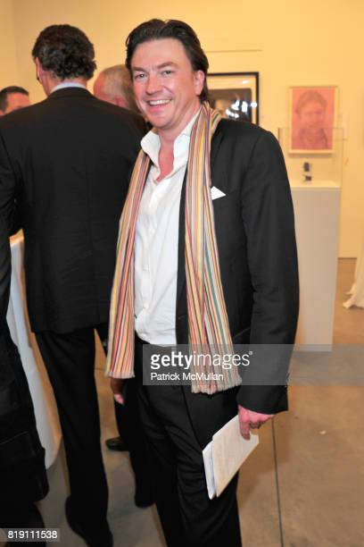Matthew Doull attends THE WOOSTER GROUP First Benefit Art Auction at Sean Kelly Gallery on March 15 2010 in New York City