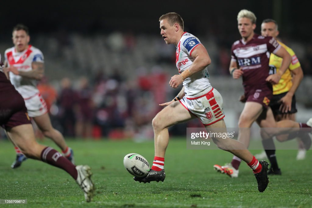NRL Rd 9 - Dragons v Sea Eagles : Nachrichtenfoto