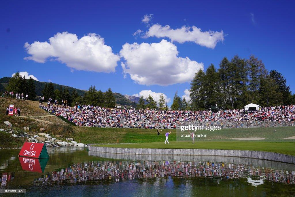 Omega European Masters - Day Four : News Photo