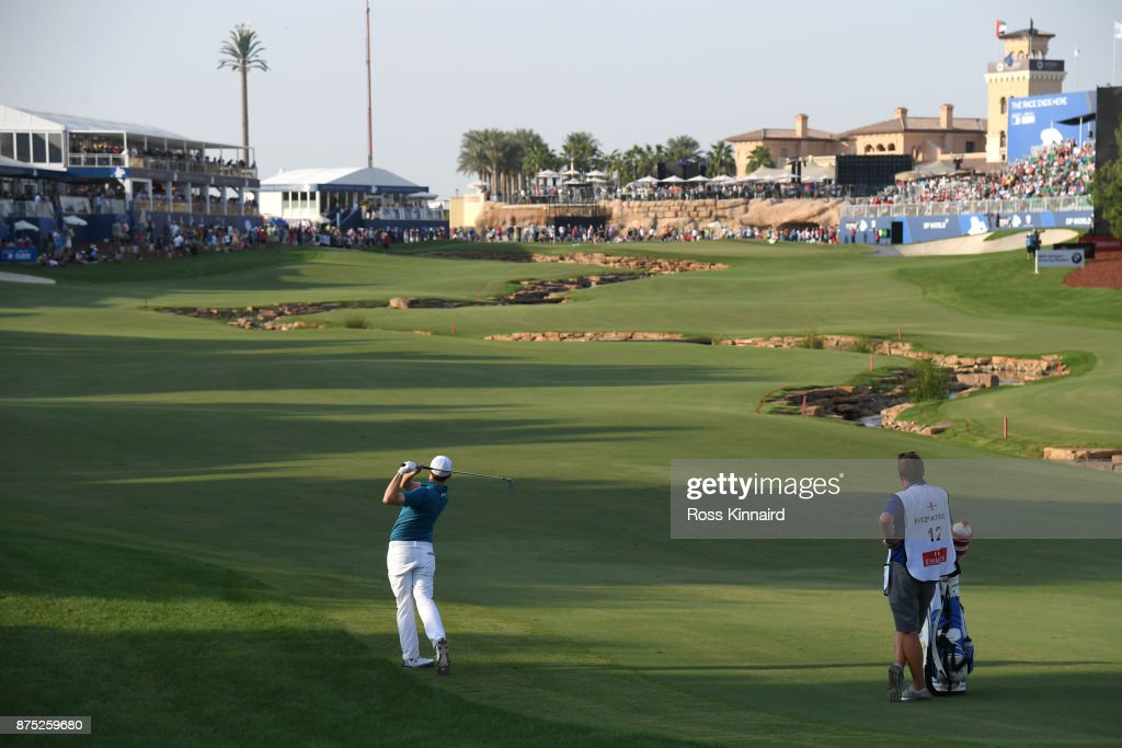 DP World Tour Championship - Day Two