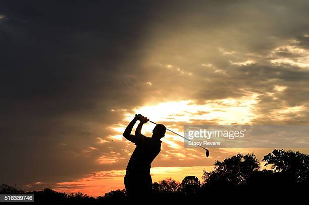 Matthew Fitzpatrick of England hits his tee shot on the 11th hole during the second round of the Arnold Palmer Invitational Presented by MasterCard...