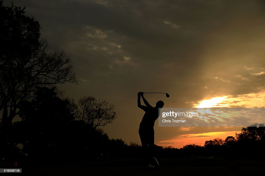 Matthew Fitzpatrick of England hits his tee shot on the 11th hole during the second round of the Arnold Palmer Invitational Presented by MasterCard at Bay Hill Club and Lodge on March 18, 2016 in Orlando, Florida.