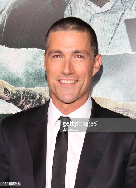 Matthew Fox attends 'Alex Cross' Los Angeles Premiere held at ArcLight Cinemas Cinerama Dome on October 15 2012 in Hollywood California
