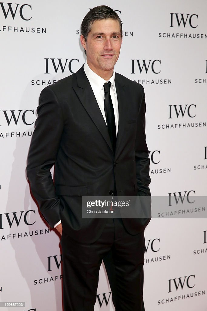 Matthew Fox attends the IWC Schaffhausen Race Night event during the Salon International de la Haute Horlogerie (SIHH) 2013 at Palexpo on January 22, 2013 in Geneva, Switzerland.