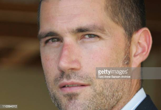 Matthew Fox during 45th Monte Carlo Television Festival 'Lost' Photocall at Japonese Gardens in Monte Carlo Monaco