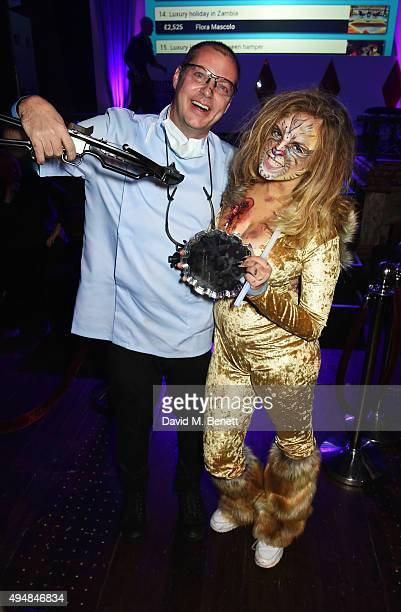 Matthew Freud and Charlotte Emma Freud attend The Unicef UK Halloween Ball raising vital funds to support Unicef's lifesaving work for Syrian...
