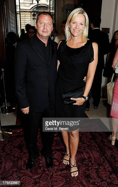 Matthew Freud and Elisabeth Murdoch arrive at the GQ Men of the Year awards at The Royal Opera House on September 3 2013 in London England