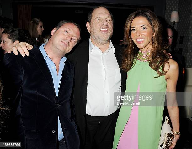 Matthew Freud Chairman of The Weinstein Company Harvey Weinstein and Heather Kerzner attend The Weinstein Company Dinner Hosted By Grey Goose in...