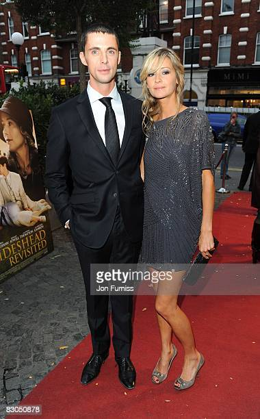 Matthew Good and girlfriend Sophie Dymoke attend the predrinks party of Brideshead Revisited at Bluebird on September 29 2008 in London England