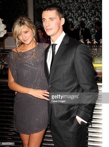 Matthew Goode and girlfiend Sophie Dymoke attend the UK premiere of 'Brideshead Revisited' at the Chelsea cinema Kings Road on September 29 2008 in...