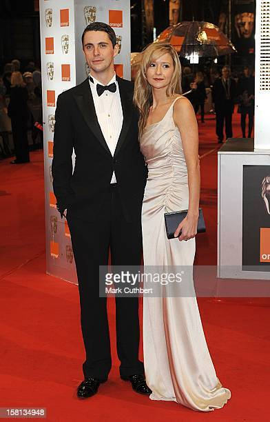 Matthew Goode And Sophie Dymoke Arriving For The Orange British Academy Film Awards At The Royal Opera House London