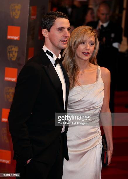 Matthew Goode and Sophie Dymoke arriving for the Orange British Academy Film Awards, at The Royal Opera House, London.