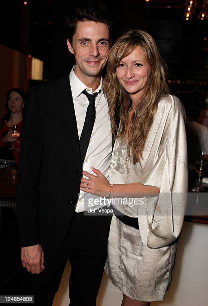 Matthew Goode and Sophie Dymoke attend the Fox Searchlight Pictures Belvedere Vodka And Vanity Fair Celebration of Martha Marcy May Marlene And The...
