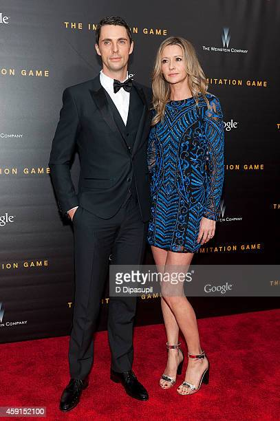 Matthew Goode and Sophie Dymoke attend The Imitation Game New York Premiere at the Ziegfeld Theater on November 17 2014 in New York City