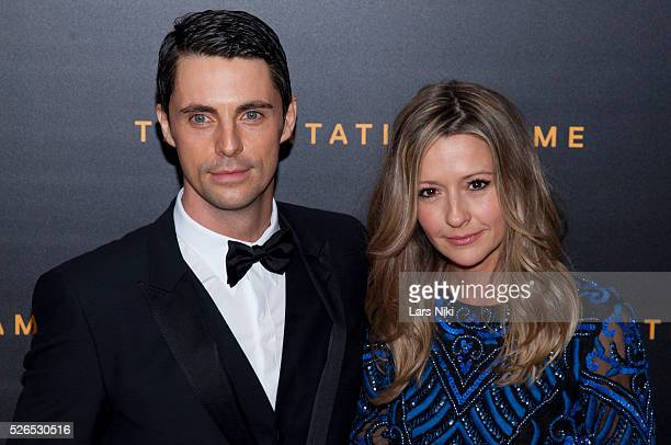 "Matthew Goode and Sophie Dymoke attend ""The Imitation Game"" premiere at the Ziegfeld Theatre in New York City. �� LAN"