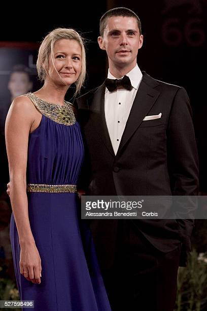 Matthew Goode and Sophie Dymoke attend the premiere of movie A single man presented in competition at the 66th Venice Film Festival