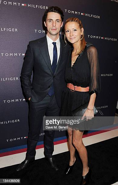 Matthew Goode and Sophie Dymoke attend the VIP Opening of the new Tommy Hilfiger Flagship Store on December 1 2011 in London England