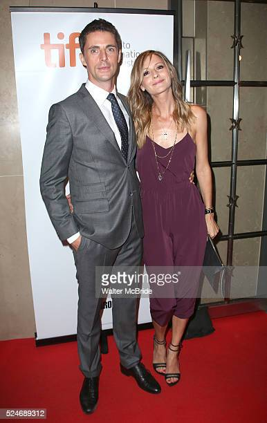 Matthew Goode and Sophie Dymoke attending the Red Carpet Arrivals for 'The Imitation Game' at the Princess of Whales Theatre during the 2014 Toronto...