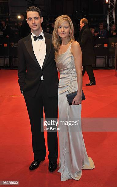 Matthew Goode and Sophie Dymoke attends the Orange British Academy Film Awards 2010 at the Royal Opera House on February 21 2010 in London England