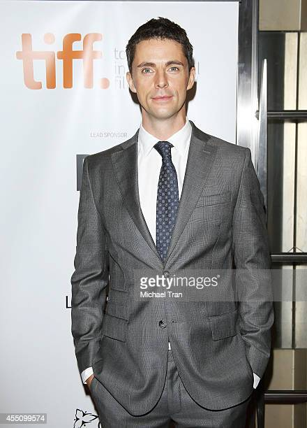 Matthew Goode arrives at the premiere of The Imitation Game held during the 2014 Toronto International Film Festival - Day 6 held on September 9,...