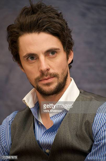 Matthew Goode at the 'Watchmen' press conference at the Beverly Hilton Hotel on February 19 2009 in Beverly Hills California