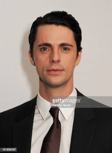 Matthew Goode attends a special screening of 'Stoker' at Curzon Soho on February 17 2013 in London England