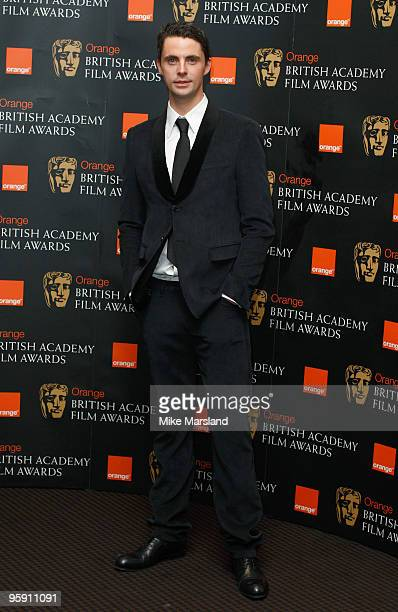 Matthew Goode attends the announcement of the nominations for The Orange British Academy Film Awards at BAFTA on January 21 2010 in London England