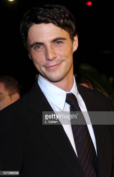 Matthew Goode during 'Chasing Liberty' Premiere Red Carpet at Gruaman's Chinese Theatre in Hollywood California United States