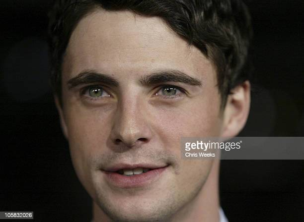 Matthew Goode during 'Chasing Liberty' World Premiere at Grauman's Chinese Theater in Hollywood California United States