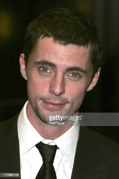 Matthew Goode during Match Point London Premiere Arrivals at Curzon Cinema Mayfair in London Great Britain