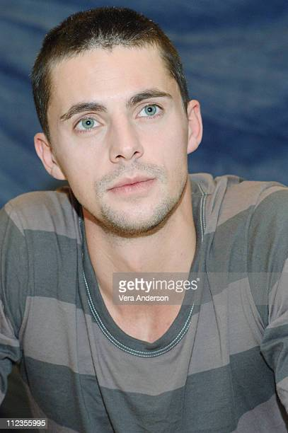 Matthew Goode during 'Match Point' Press Conference with Matthew Goode Emily Mortimer and Jonathan Rhys Myers at Waldorf Astoria Hotel in New York...