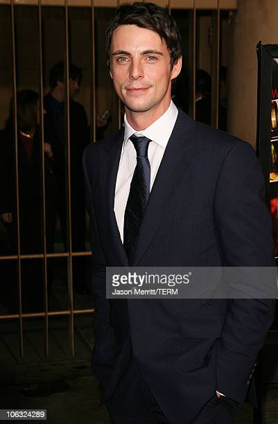 Matthew Goode during 'The Lookout' Los Angeles Premiere Arrivals at Egyptian Theater in Hollywood California United States